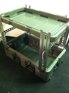 New Leg Set For Hardigg pelican Cases Turn Your Shipping Case Into A Table