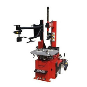 Heavy Duty Rim Clamping Tire Changer With Left Side Press Arm Tc 950 wpa