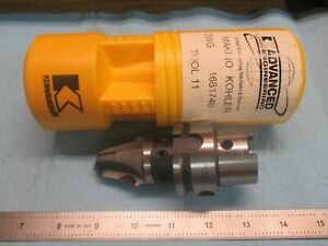 Kennametal Kohler Dwg 1661740 Hsk 50 Tool Holder Special Machine Shop Tooling