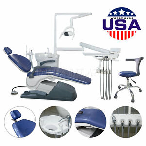 Brand New Tuojian Tj2688 Dental Chair Unit Delivery System Hard Leather W stool