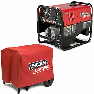 Lincoln Outback 185 Welder Generator W Cover k2706 2
