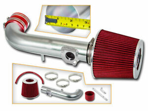 Bcp Red For 2000 2001 2002 Corolla 1 8 1 8l Short Ram Air Intake Filter