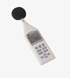Tes 1352h Digital Programmable Noise Sound Level Meter 30 To 130db Auto Ranging