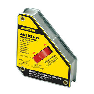 Strong Hand Tools 6 In Adjust o Magnet Square msa47