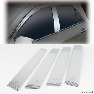 2011 2012 Picanto morning B pillar Chrome Cover Moulding Car Trim K 853