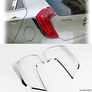 2011 2012 Picanto morning Chrome Rear tail Light Lamp Cover Molding K 577