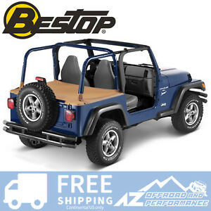 Bestop Duster Deck Cover 97 02 Jeep Wrangler Tj Spice W Factory Hard Top