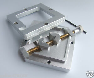 80mm X 80mm Bga Reballing Solder Rework Station Diagonal Stencil Holder Bga Jig