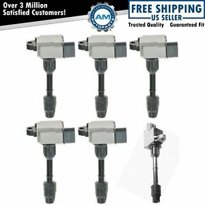 Ignition Coil Full Set Kit 6 Piece For 2001 Nissan Pathfinder Infiniti Qx4