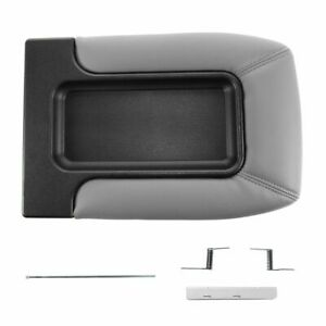 Dorman 924 813 Console Lid Repair Kit Light Gray For Chevy Front Row Split Bench