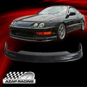 1998 2001 Poly Urethane Mug Style Front Bumper Lip Spoiler Fits Acura Integra