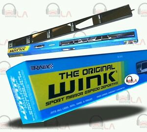 Rally Original Wink 5 Panel Rear View Mirror 34 44 X 2 75