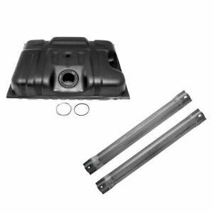 Fuel Gas Tank W Straps Kit Set 18 Gallon New For Ford F series Pickup Truck
