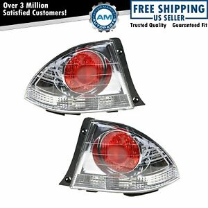 Outer Taillight Lamp New Pair For 01 Lexus Is300