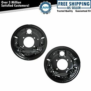 Dorman Rear Brake Backing Plates Pair For Chevy C K Pickup Suburban Ford Van