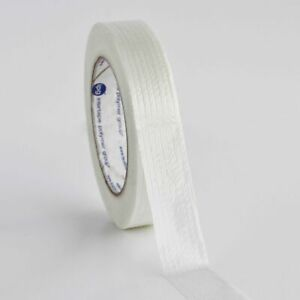 36 Rolls Extra Strong 1 Fiberglass Reinforced Strapping Filament Tape 60 Yds