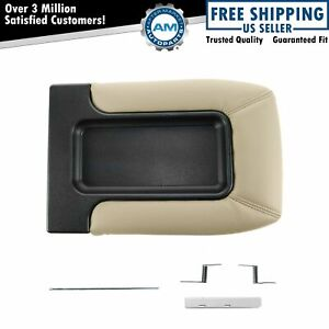Dorman 924 812 Console Lid Repair Kit Tan For Chevy Gmc Front Row Split Bench