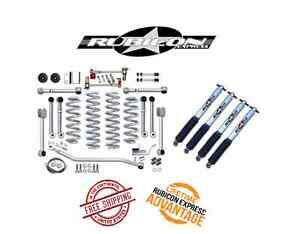 Rubicon Express 4 5 Super Flex Short Arm System Mono Shocks 93 98 Jeep Zj