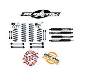 Rubicon Express 3 5 Super Ride System Twin Shocks 93 98 Jeep Grand Cherokee Zj