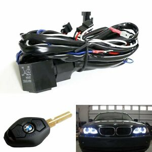 Angel Eye Halo Rings Led Ccfl Relay Harness W Fade In Fade Out Feature For Bmw