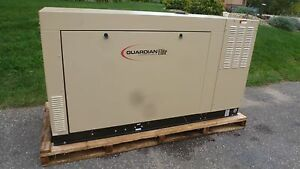 Generac Unused 60 Kw Ng V6 Cyl Liquid Cooled Automotive Engine Standby Generator