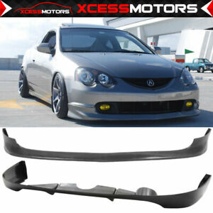 Fits 02 04 Acura Rsx Type A Urethane Front Rear Bumper Lip Spoiler