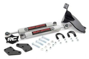 Dual Steering Stabilizer Kit 2014 2018 Dodge Ram 2500 2013 2018 Ram 3500 4x4