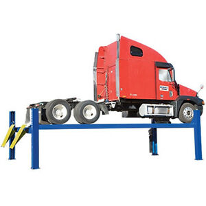 Bendpak Hds 27x 27 000 Lb 4 Post Extended Length Truck Lift