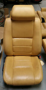 Alfa Romeo 164 Tan Leather Interior front Back Seats