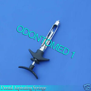3 Dental Syringe Instrument 1 8ml Self Aspirating Cartridge Syringe