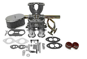 Dual Port Single 40mm Carburetor Kit Idf Weber Copy Vw Type 1 Bug Ghia