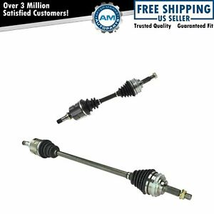 Front Cv Joint Axle Shaft Left Right Pair Set New For Corolla Celica Prizm