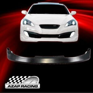 2010 2012 Ms Style Poly Urethane Front Bumper Lip Fits Hyundai Genesis Coupe