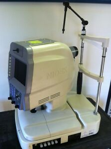 Nidek Nm 1000 Non mydriatic Fundus Camera Mfg 2006 Excellent Condition Retinal