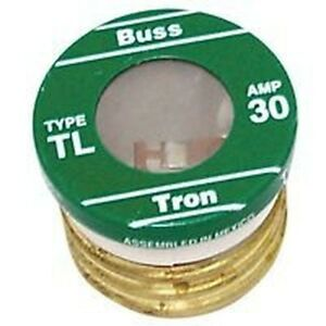 New Lot Of 16 Tl 30 Bussman 30 Amp Screw In Base House Plug Fuses 4182135