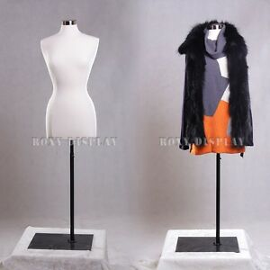Female Size 6 8 Jersey Cover Body Form Mannequin Dress Form f6 8w bs 05bk