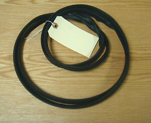 1955 1956 1957 Chevy Sw Tail Gate Lift Gate Glass Rubber Channel Gasket Seal Usa