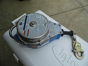 Used Dbi Sala Self Retracting Lanyard 50 Galvanized Cable 3403400c