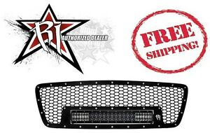 Rigid Industries E Series Led Light Bar Grille Kit 04 08 Ford F150