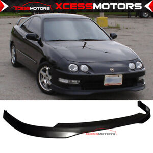 Fits 98 01 Acura Integra T r 2 Style Front Bumper Lip Spoiler Pp Add On