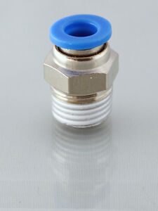 1 2 Bsp Male 10mm Straight Push In Fitting