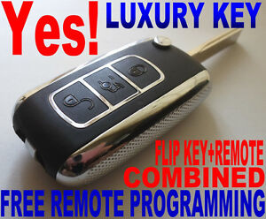 Chrome Flip Key Remote For Bmw Virgin Chip Never Been Coded Transponder Fob E6