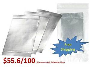 Self Adhesive Sealing Aluminum Foil Film Membrane For 96 Well Pcr Elisa Plates
