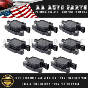 Pack Of 8 Ignition Coils Uf413 For Chevrolet Gmc V8 12570616 12611424