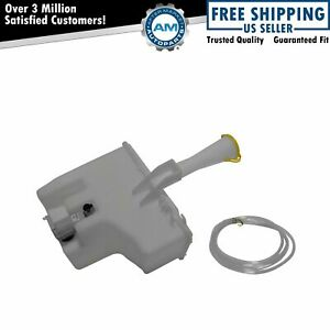 Windshield Washer Reservoir Tank Bottle With Pump For 00 06 Nissan Sentra