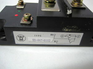 Rectifier Diode Module 554470102 Westinghouse 55 447 0102 New Free Shipping