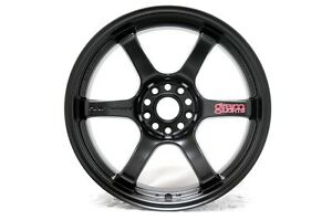 Rays Gram Lights 57dr 18x10 5 22 5x114 3 Semi Gloss Black Wgiac22eh Wheels