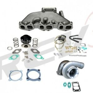 Rev9 Fit Vw Golf Gti Mk3 Mk4 R32 Vr6 Jetta Vag Gt35 Turbocharger Setup Kit