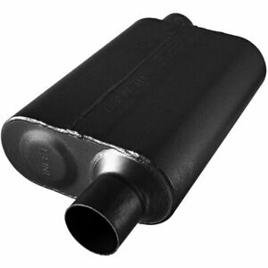 Flowmaster Muffler 40 Series 2 1 2 Inlet 2 1 2 Outlet Stainless Steel