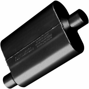 New Flowmaster Mufflers American Thunder 40 Series 2 1 4 Inlet 2 1 4 Out Steel